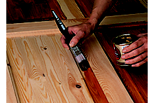 How to paint, varnish and stain a door