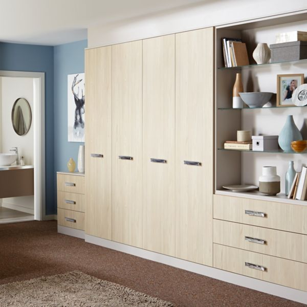 Bedroom furniture wardrobes beds bedside tables diy for B q bedrooms fitted