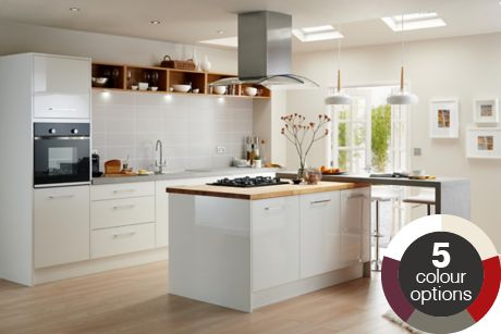 Fitted Kitchens Traditional Bespoke Kitchens DIY at BQ