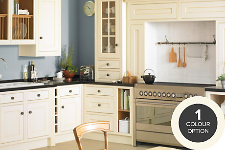 Fitted kitchens traditional bespoke kitchens diy at b q for Fitted kitchen ideas