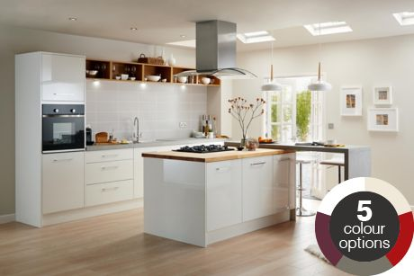 fitted kitchens | traditional & bespoke kitchens | diy at b&q