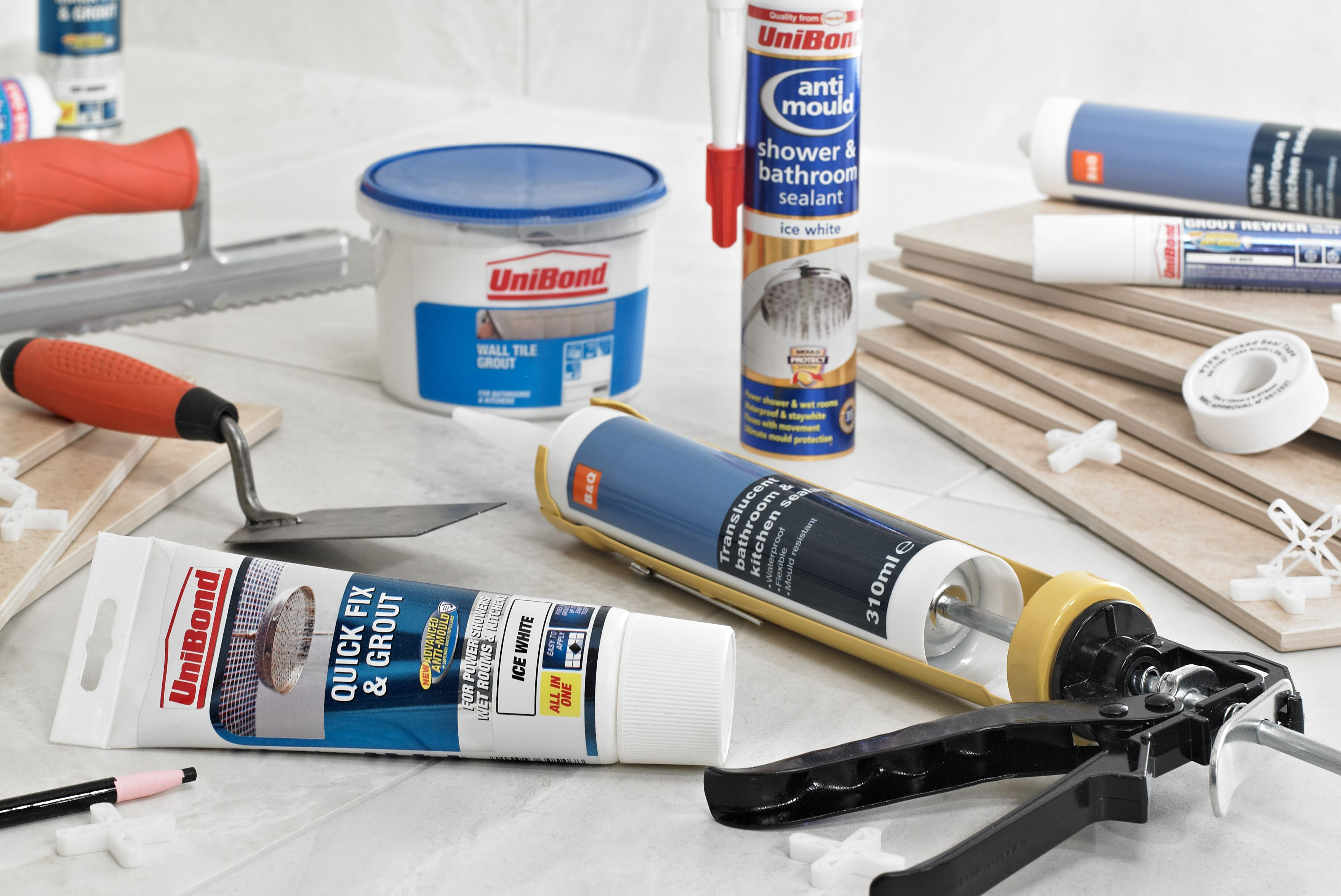 Adhesives sealants buying guide help ideas diy at b q B q bathroom design service