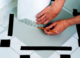 How To Lay Vinyl Floor Tiles Help Amp Ideas Diy At B Amp Q