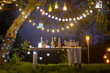Turning inside out with outdoor lighting effects