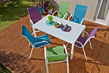 The art of mixing and matching your outdoor furniture