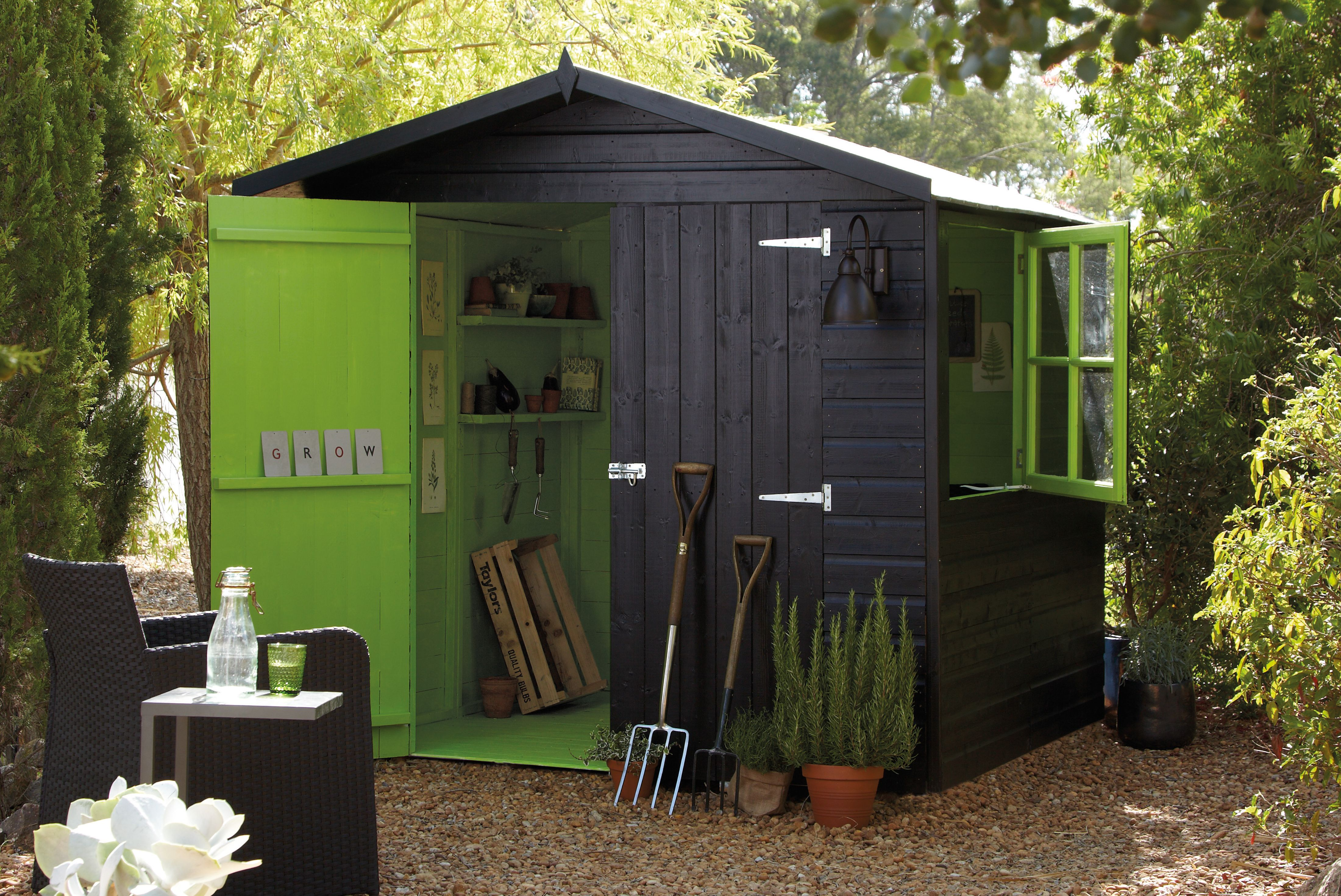 Garden design ideas b and q pdf for Garden shed pictures