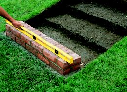 How to build garden steps ideas advice diy at b q for How to build a brick house step by step pdf