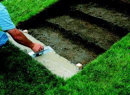 Uneven Concrete Patio Makeover