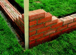 How to repair and build a brick garden wall | Help & Ideas | DIY at B&Q