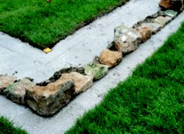 How to build a stone garden wall Help Ideas DIY at BQ