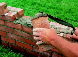 How to repair and build a brick garden wall | Help & Ideas | DIY ...