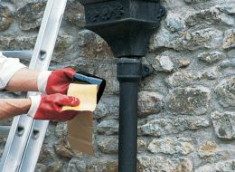How To Repair Your Guttering Help Amp Ideas Diy At B Amp Q