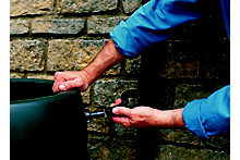 How to install a water butt