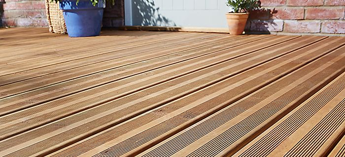 How to plan decking ideas advice diy at b q for 6 inch wide decking boards