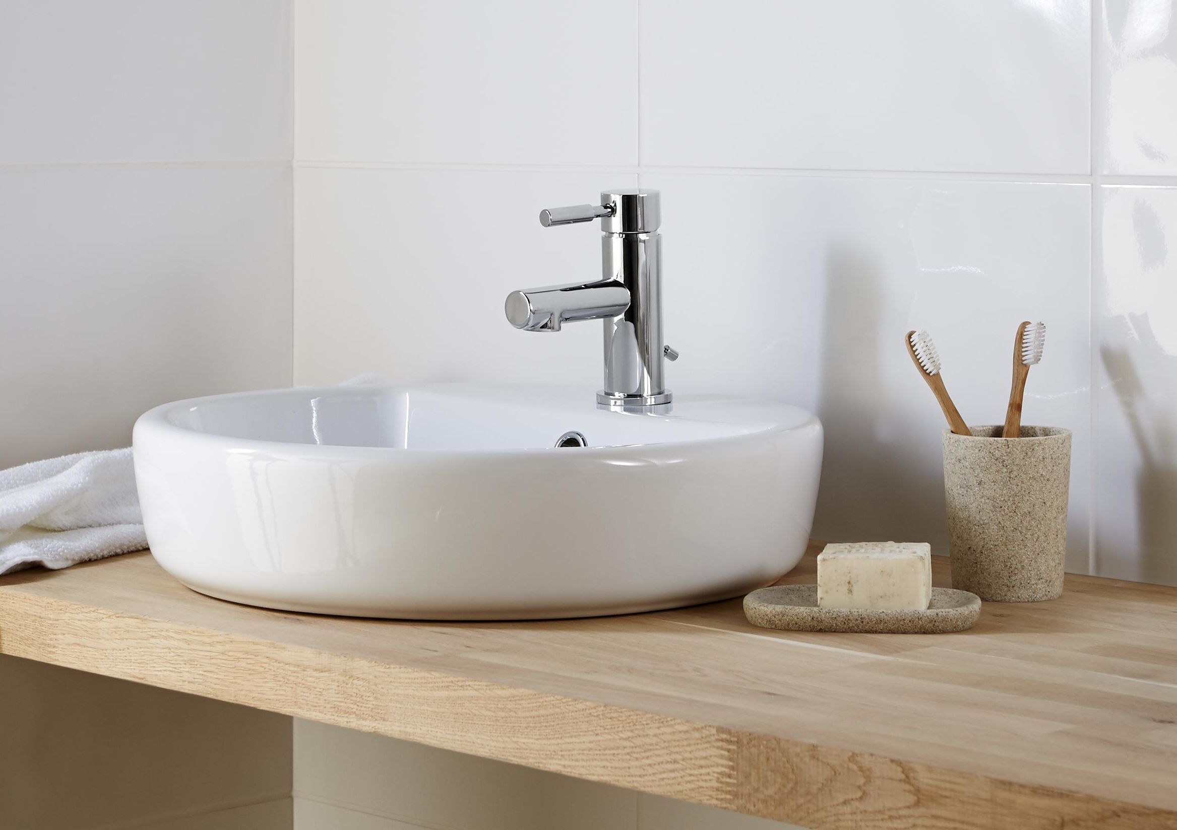 Bathroom Design B&Q bathroom basins | bathroom sinks | diy at b&q