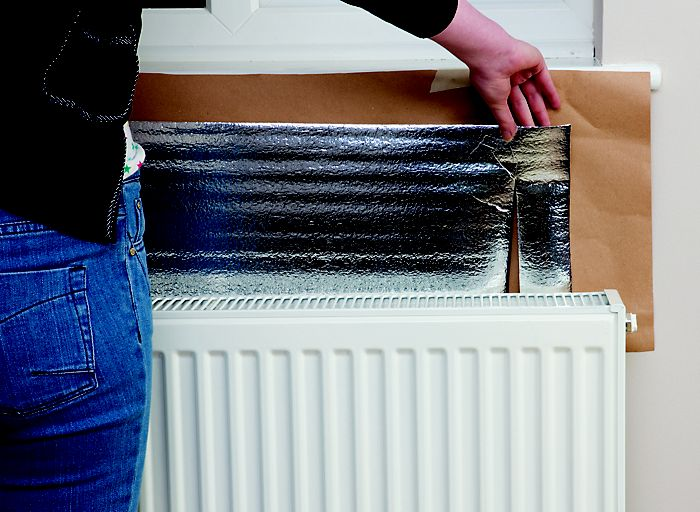 Using radiator reflectors