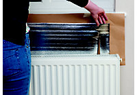 image of radiator foil