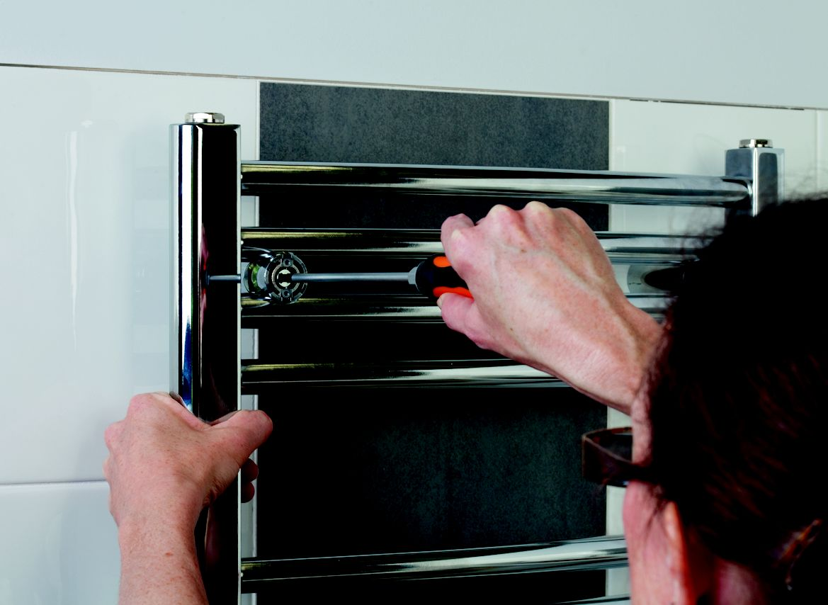 How To Fit A New Towel Radiator Ideas Amp Advice Diy At B Amp Q