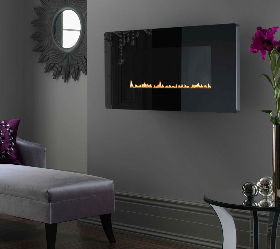 wall-hung electric fire