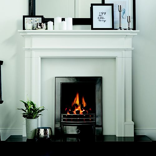 instlled gas fire