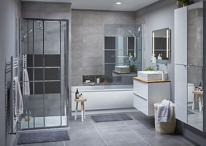 Contemporary bathroom ideas ideas advice diy at b q - Pictures of modern bathrooms ...