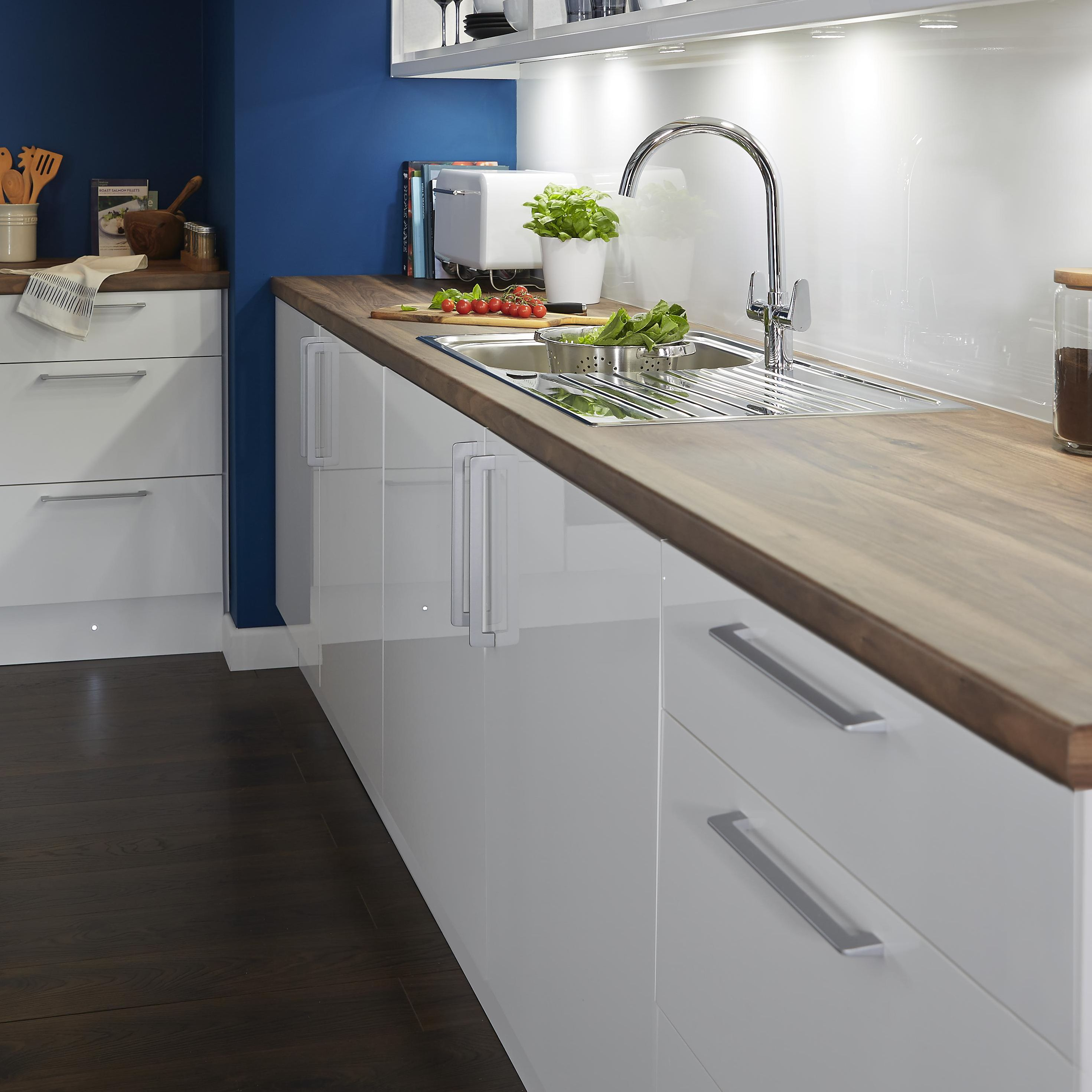 it gloss white slab kitchen ranges kitchen rooms