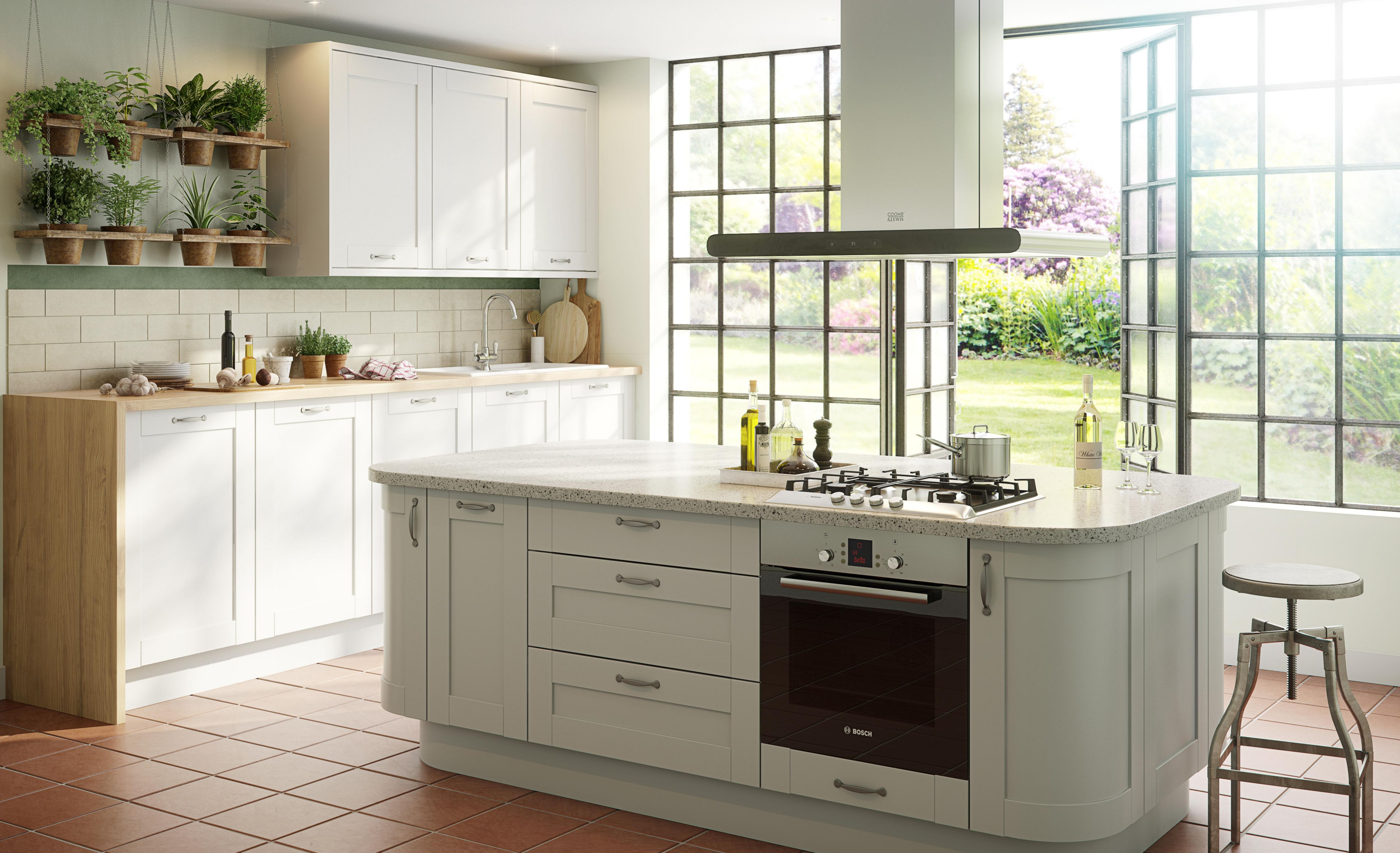 Scandinavian kitchen design ideas Help Ideas DIY at BQ