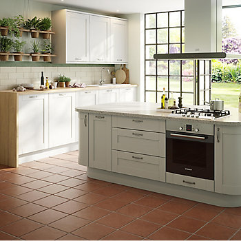 IT Brookfield Textured Mussel Style Shaker kitchen