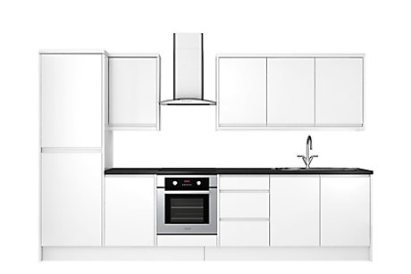 Marletti White Gloss 8 unit example