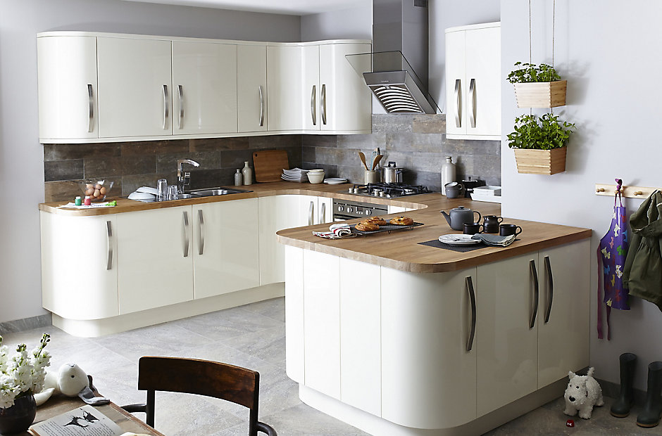 Oak Kitchen Cabinets At B And Q