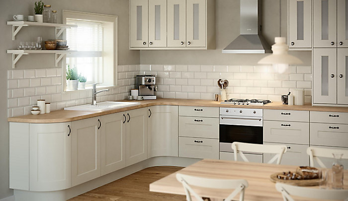 IT Stonefield Ivory Classic Style kitchen