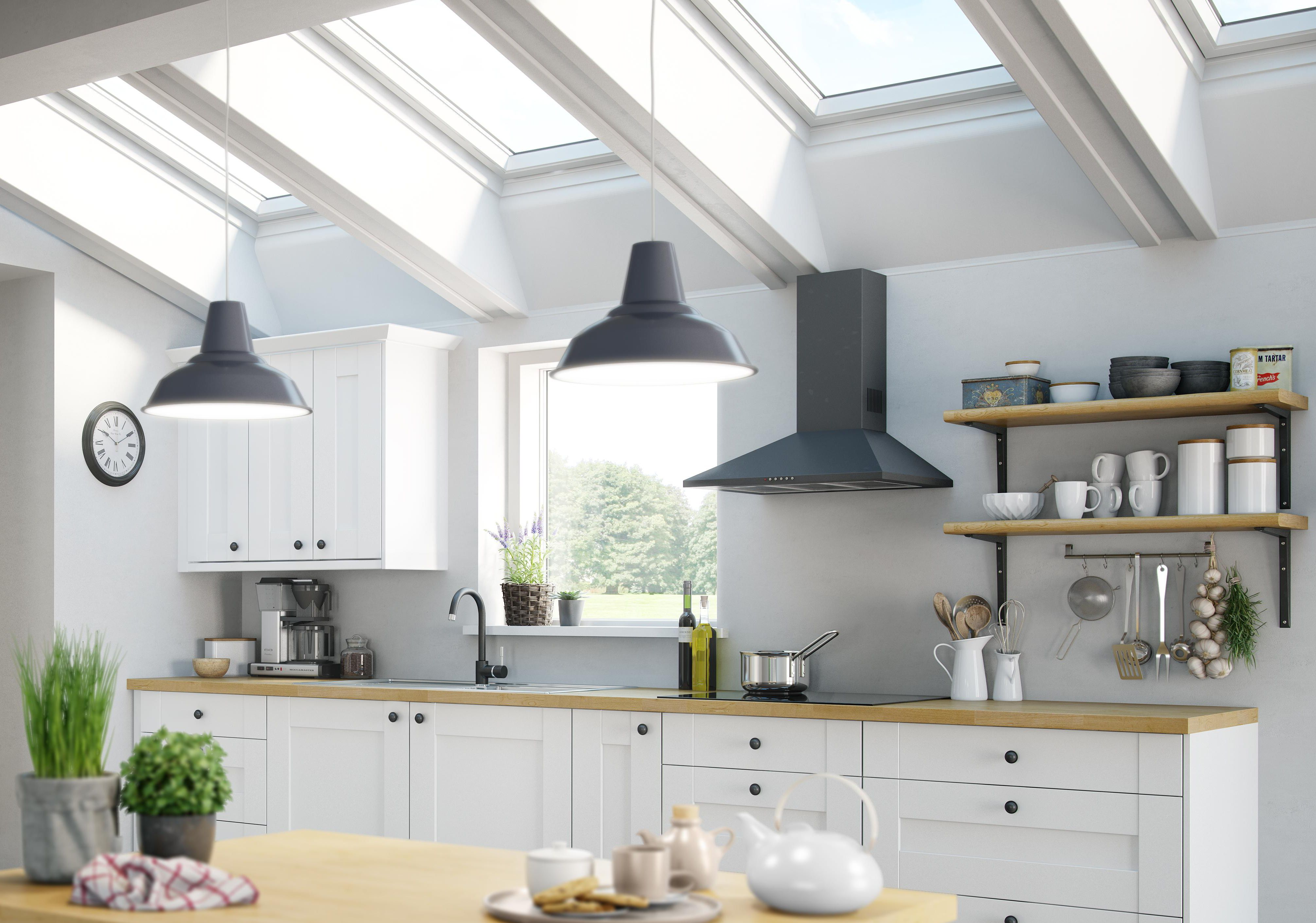 How to maximise storage in your kitchen help ideas for Kitchen cabinets b q