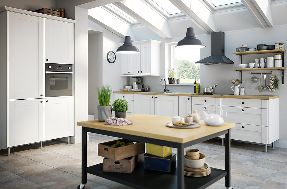 Tiles Or Kitchen Units First