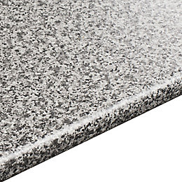 28mm Inari Grey Granite Effect Round Edge Worktop