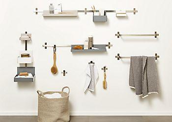 Amantea accessories for small bathrooms