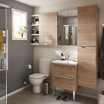 Small bathroom ideas ideas advice diy at b q - Small half bathroom layout ...