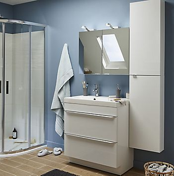 Imandra grey bathroom cabinets