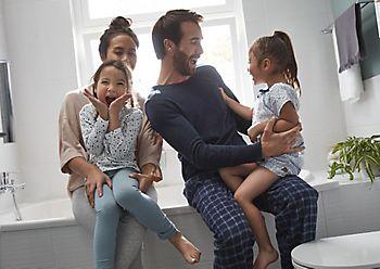 Multi use bathroom