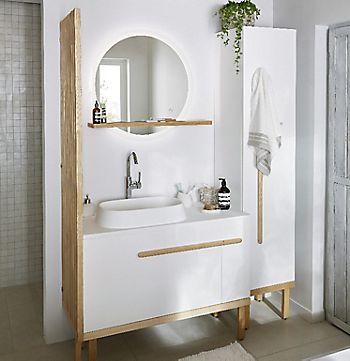 how to hang a bathroom mirror
