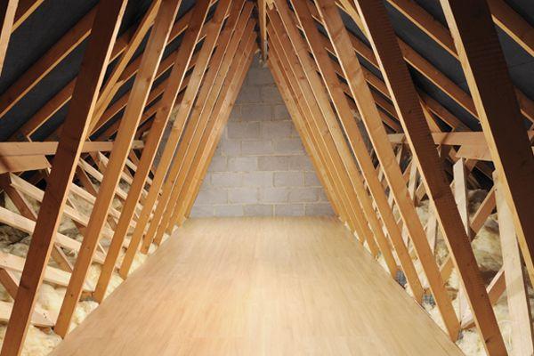 How to board a loft ideas advice diy at b q for Diy garage storage loft