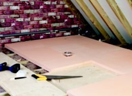 How to insulate a loft ideas advice diy at b q - Polystyrene insulation step by step ...