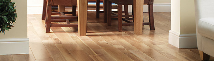 image of solid wood flooring