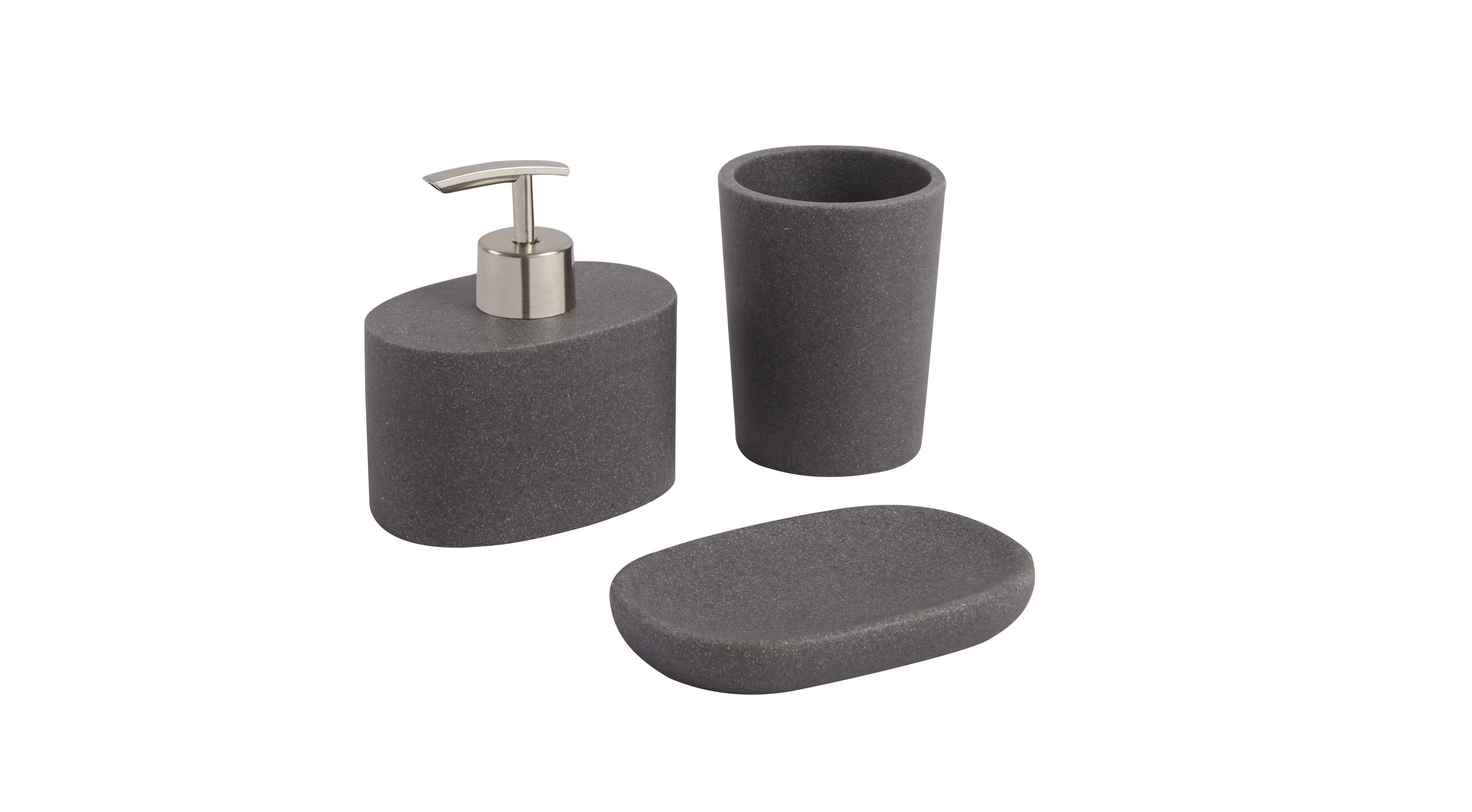 jubba grey stone effect bathroom accessories bathroom accessory sets bathroom accessories bathroom grey bathroom