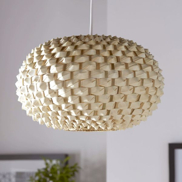 Natural Bolsena Hedgehog Lampshade