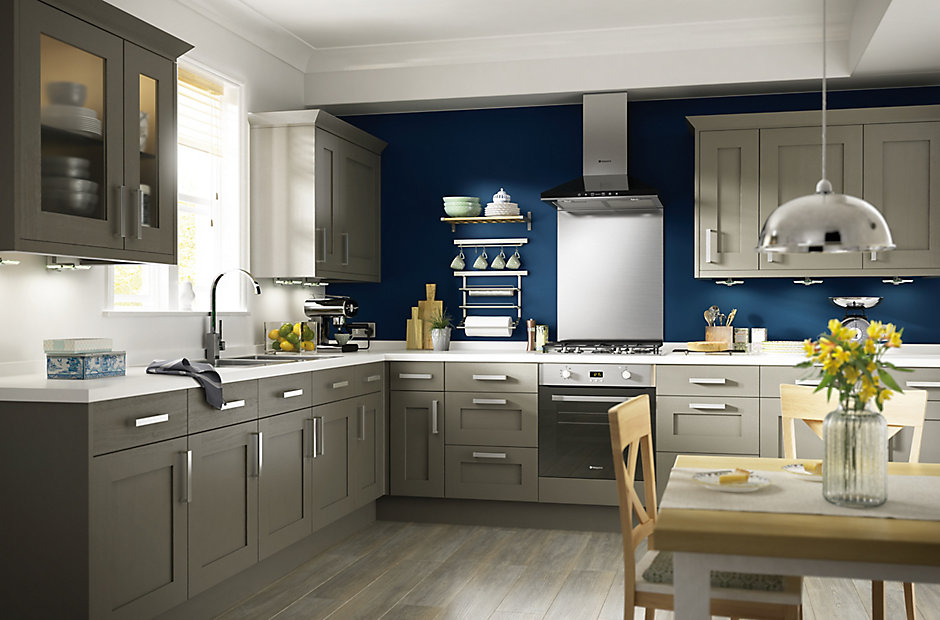 Cooke Lewis Carisbrooke Taupe Kitchen Ranges Kitchen Rooms Diy At B Q