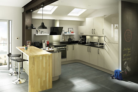 Designing your kitchen with B&Q