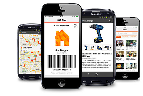 Find out more about the B&Q App