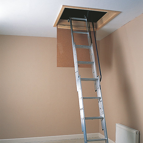 Image of loft ladder. Shop loft ladders
