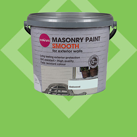 Colours Masonry Paint 5L - 2 for £34