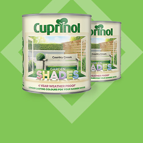 Cuprinol Garden Shades<br>2.5L 2 for £30
